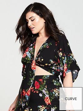 v-by-very-curve-knot-front-blouse-printnbsp