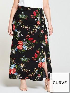 v-by-very-curve-co-ord-midi-length-skirt
