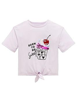 mini-v-by-very-girls-cupcake-knot-tie-t-shirt