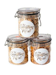 the-snaffling-pig-co-pig-n-mix-small-jar-bundle-3-x-90g-jars