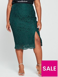 v-by-very-curve-lace-pencil-skirt-forest-green