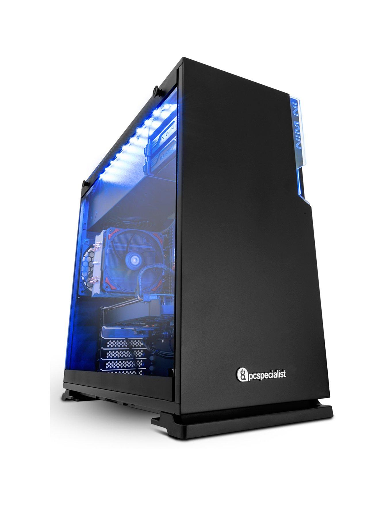 PC Specialist Stalker Pro VR Intel® Core™ i7 Processor,GeForce GTX 1060 Graphics,8GbRAM,1TbHDD&120GbSSD, Gaming PCwith Gaming Software Pack