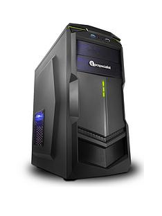 PC Specialist Fusion Elite AMD FX-4300 Processor,GeForce GTX 1050 Ti Graphics, 8GbRAM and 1TbHDD Gaming PC
