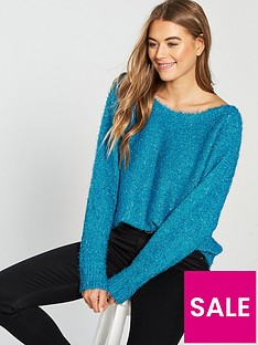 v-by-very-sparkle-off-the-shoulder-slouch-jumper