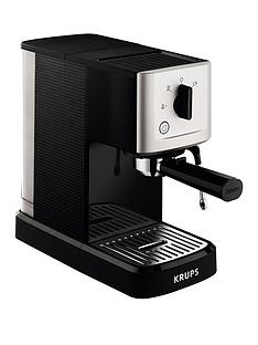Krups XP344040 Calvi Manual Espresso Machine - Black