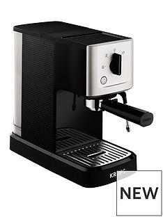 Krups XP344040 Calvi Manual Espresso Machine - Black