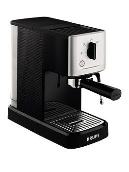 Krups Xp344040 Calvi Manual Espresso Machine – Black