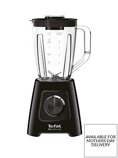 Tefal BL420840 Blendforce II Blender with Plastic Jug - Black