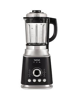 Tefal Bl962B40 Ultrablend Cook 1300W High-Speed Blender - Black &Amp; Silver