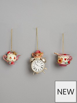 gisela-graham-pack-3-resin-tea-potcup-and-saucer-dec-amp-clock-with-mouse
