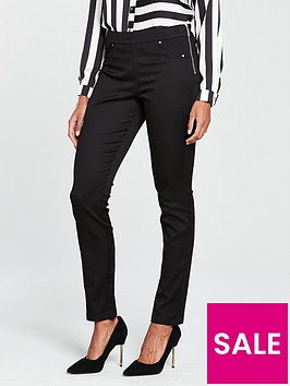 wallis-wallis-tinsel-town-side-zip-pocket-trouser