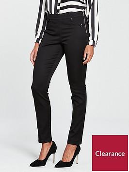 wallis-wallis-tinsel-town-side-zip-pocket-trouser
