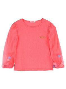 billieblush-girls-long-mesh-sleeve-pom-pom-t-shirt