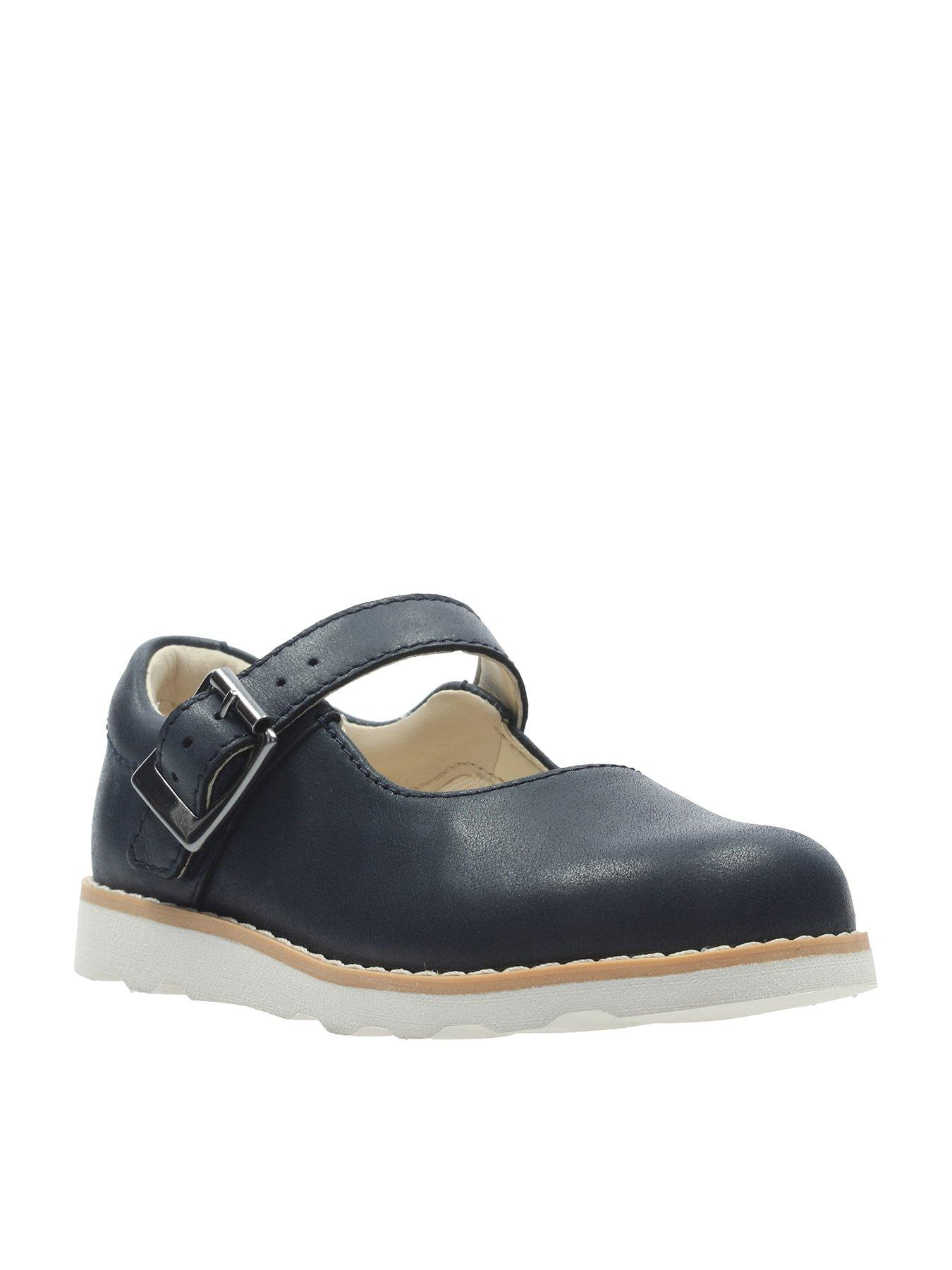 c521e312118 Clarks Crown Honor Girls First Shoes - Navy | £26.00 | Gay Times