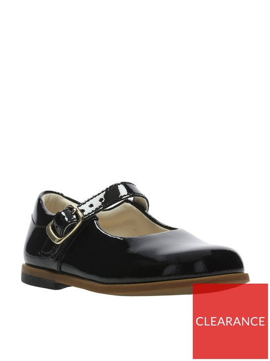 7dbe650ded7e8 Clarks Drew Sky First Shoes - Black | very.co.uk