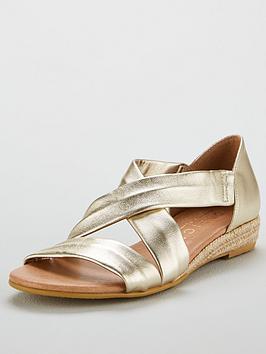 Office Hallie Low Wedge Sandal