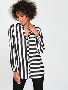 wallis-humbug-stripe-shirt-blackwhite