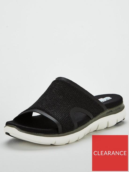 2dcd05d35cee Skechers Skechers Flex Appeal 2.0 Summer Jam Flat Sandals