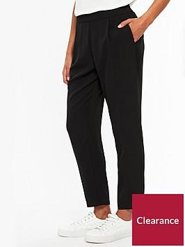 wallis-henna-pull-on-trouser-blacknbsp