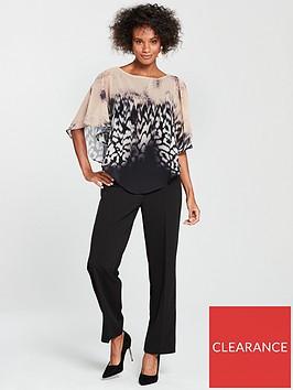 wallis-animal-over-lay-jumpsuit