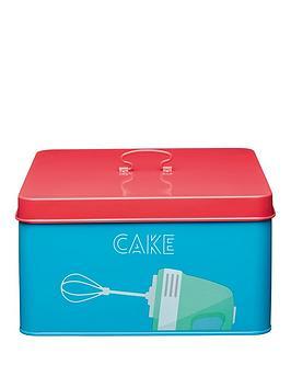 kitchen-craft-art-deco-metal-cake-tin