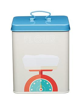 kitchen-craft-art-deco-metal-flour-storage-tin