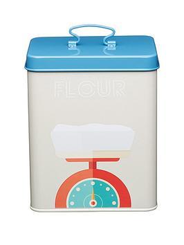kitchencraft-art-deco-metal-flour-storage-tin
