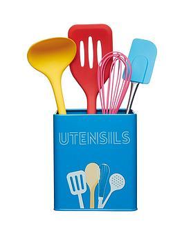 kitchen-craft-art-deco-utensil-storage-tin