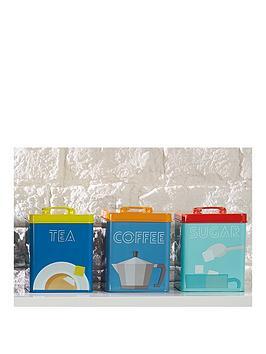 kitchen-craft-art-deco-metal-tea-coffee-and-sugar-tin-storage-set
