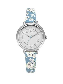 cath-kidston-ckl046us-wellesley-blossom-white-dial-soft-blue-strap-ladies-watch