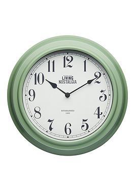 living-nostalgia-255cm-wall-clock-ndash-english-sage-green