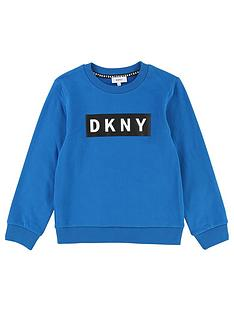 dkny-boys-logo-crew-neck-sweat
