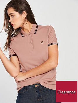 fred-perry-twin-tipped-polo-shirt-pinkblack