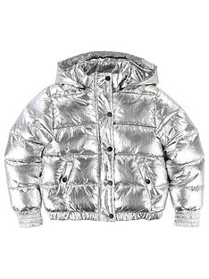 dkny-girls-metallic-hooded-padded-jacket