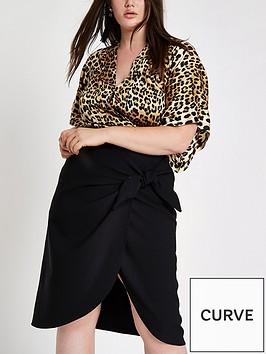 ri-plus-ri-plus-tie-side-midi-skirt-black