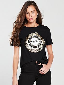 river-island-snake-slim-t-shirt