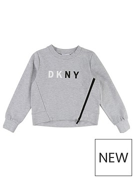dkny-girls-logo-zip-front-sweat-top