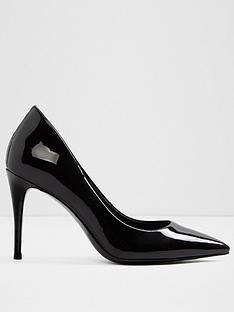 aldo-traycey-mid-heel-pointy-toe-court-shoe-black-patent