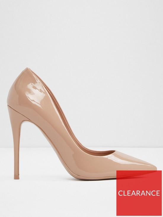 6be0ea05733e Aldo Stessy Pointy High Heel Court Shoe - Bone