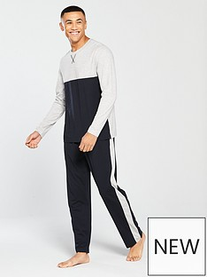 v-by-very-ls-colour-block-tee-amp-side-stripe-bottoms