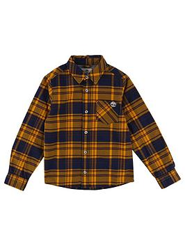 timberland-boys-long-sleeve-checked-shirt
