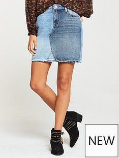 v-by-very-denim-block-mini-skirt