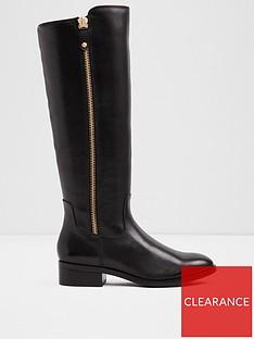 814a8dbbad3 Aldo Aldo Gaenna Knee High Flat Boot With Side Zipper