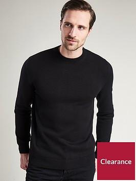 barbour-international-baffle-patch-crew-neck-knit-jumper