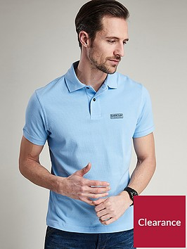 barbour-international-essential-polo-ice-blue
