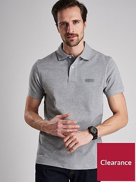barbour-international-essential-polo--nbspgrey