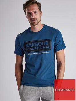 barbour-international-logo-t-shirt