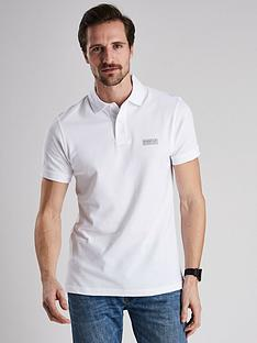 barbour-international-essential-polo-white