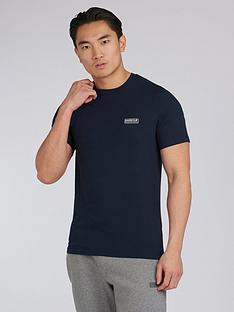 barbour-international-small-logo-slim-fit-t-shirt-navy