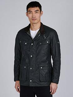 barbour-international-duke-wax-jacket-sage